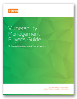 example it tripwire vulnerability buyers guide